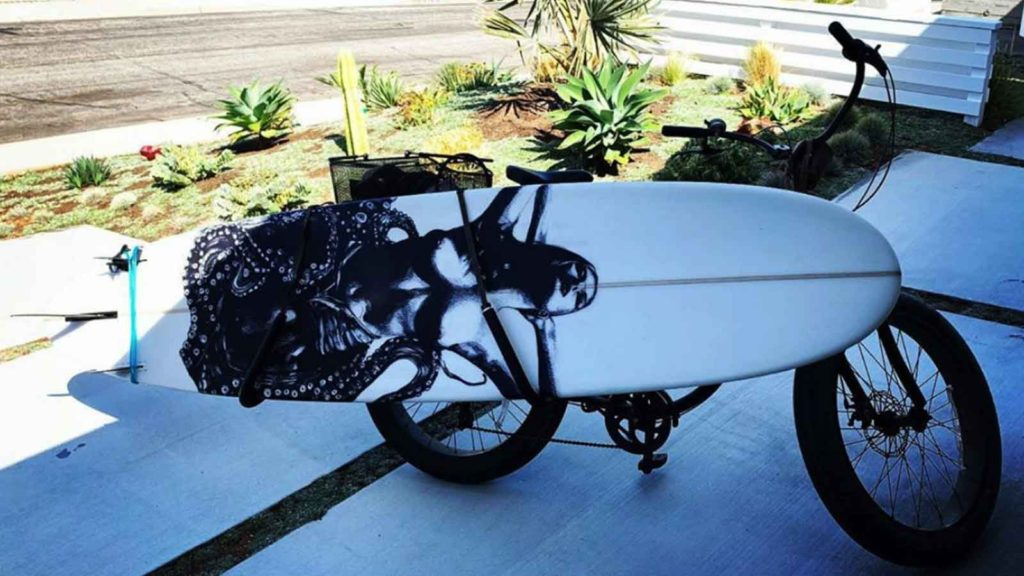 Vintage Keelan Surfboard Wrap